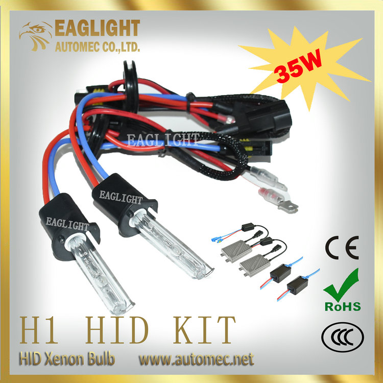 Export products list H1 12V35W Single beam Headlight slim hid kit