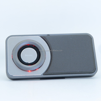 New loud portable bluetooth speaker with fm radio for mp3, cellphone and pc