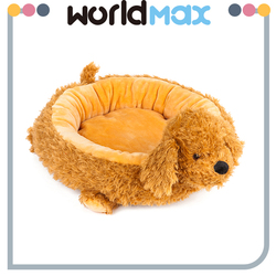 Wholesale Market Animal Mat Washable Elevated Pet Bed Plush Dog Kennel