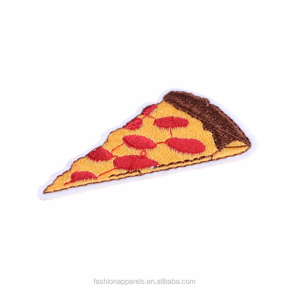 tasty food pattern embroidery patch /according your thing to design embroidery patch