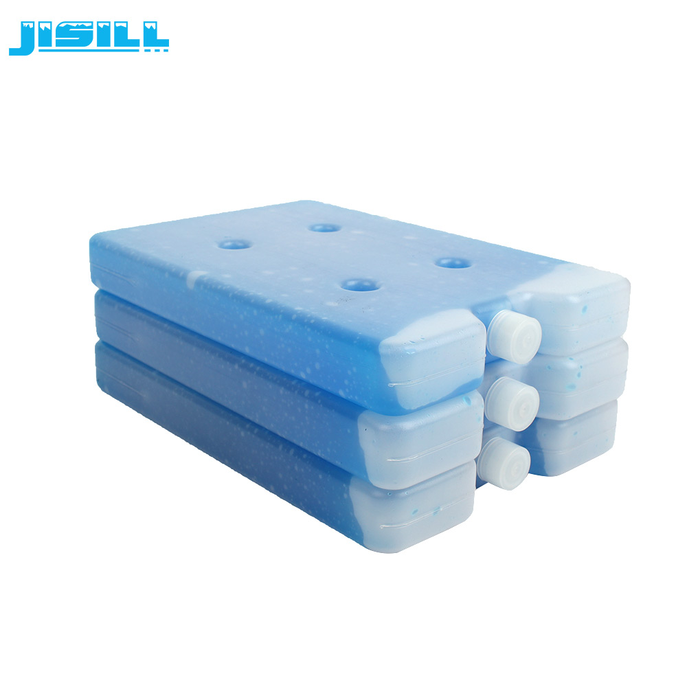 Food Grade HDPE Material Durable Plastic Ice Pack Cooling Elements For Frozen Food Cold