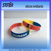 Silicone bracelets with logo
