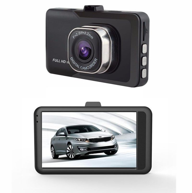 RLDV305 3 Inch FHD 1080P g-sensor driving motion detection car cam recorder