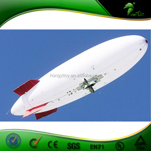 Professional Inflatable rc helium airplane,large inflatable airplane for big event