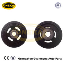 [ Genuine ONEKA Parts] 25182300 Crankshaft Belt Pulley Harmonic Balancer for DAEWOO/CHEVROLET KALOS 1.2 / CHEVROLET MATIZ 1.0L