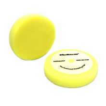"5"" car detailing yellow color Germany foam buffing pad polishing grade"