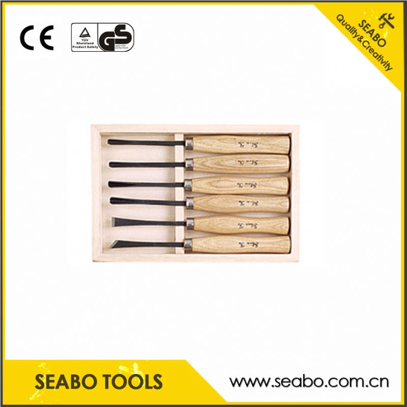 Hot Sale hand carving tool set with plastic handle