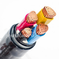 Underground Electrical Power Cable 0.6/1kV 25mm 35mm 50mm 70mm 95mm 120mm 185mm 240mm 300mm copper power cable