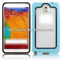 for Samsung Galaxy Note 3 Double color tpu bumper case