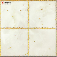 Eagle brand tile yellow glazed floor tiles, 300x300mm small wall tile polished crystal made in Chain