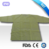 long disposable isolation gown