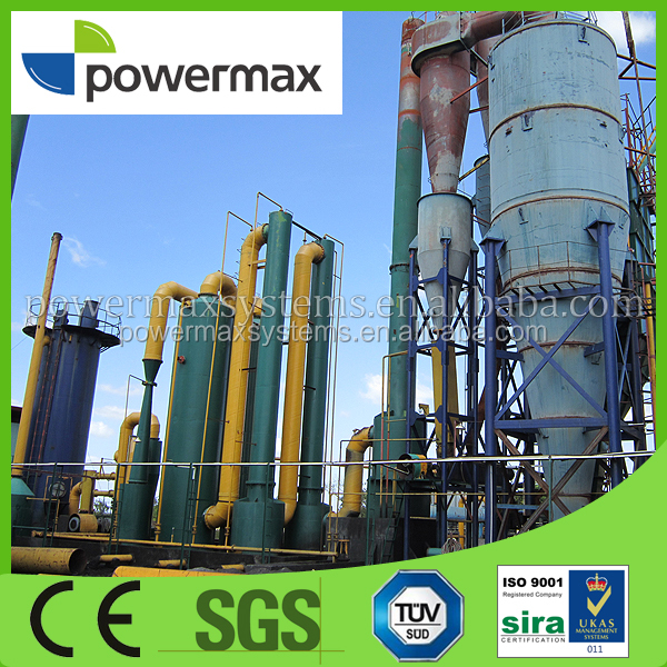 wood chips biomass gasification stove with power generator