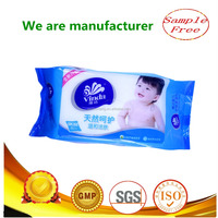 Disposable baby skin care wet wipe/wet baby wipe wholesale