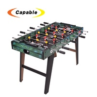Indoor sport mini MDF football soccer table game