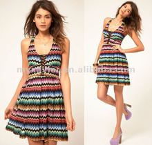 2012 new design ladies fashion dress, ladies casual dresses pictures