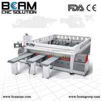 BCAMCNC! woodworking sliding table band saw from China