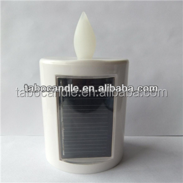 solar led grave candle light
