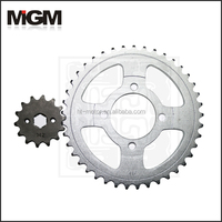 OEM Quality Motorcycle parts 1045# steel standard motorcycle sprocket YB100 42T