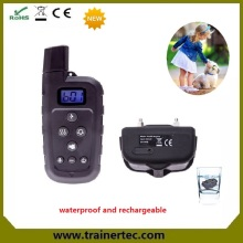popular remote control training dog with shock collar 660 yards no bark collars