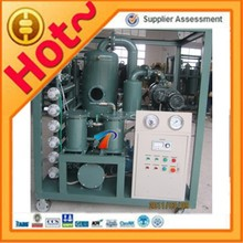 2 Stage Vacuum Equipped Transformer Oil Refining Oil Machine ZYD Series