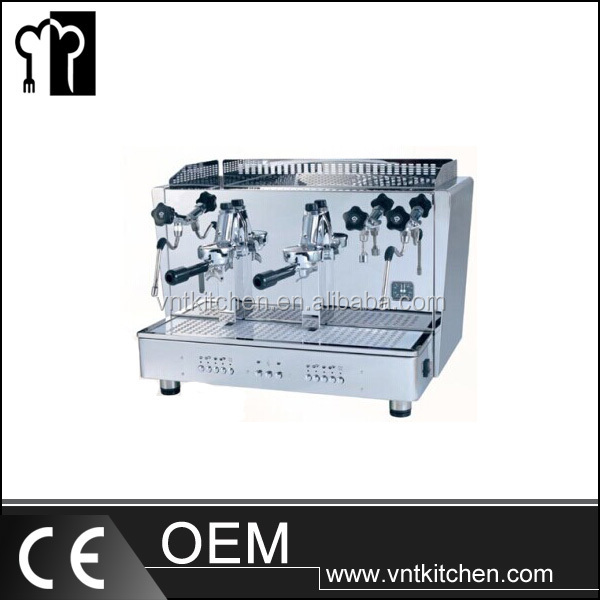 VNTB385 Professional Double Heads Semi-automatic Express Coffee Machine