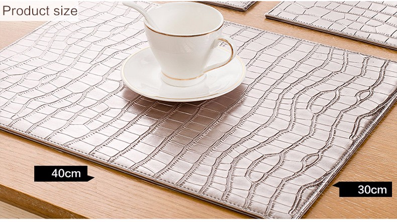 Handmade Table Mats,leather Placemats,decorative Placemats Manufacturer In  China
