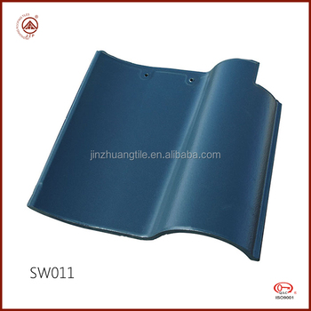 Big Selling Durable Spanish Style Clay Roof Tiles for Villas