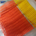 FABRIC HDPE + UV Orange color building safety warning net/ fence