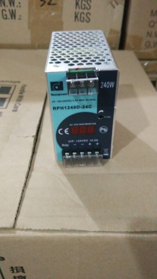 REIGNPOWER/RP1240D-24C 24V10A 240W switching power supply