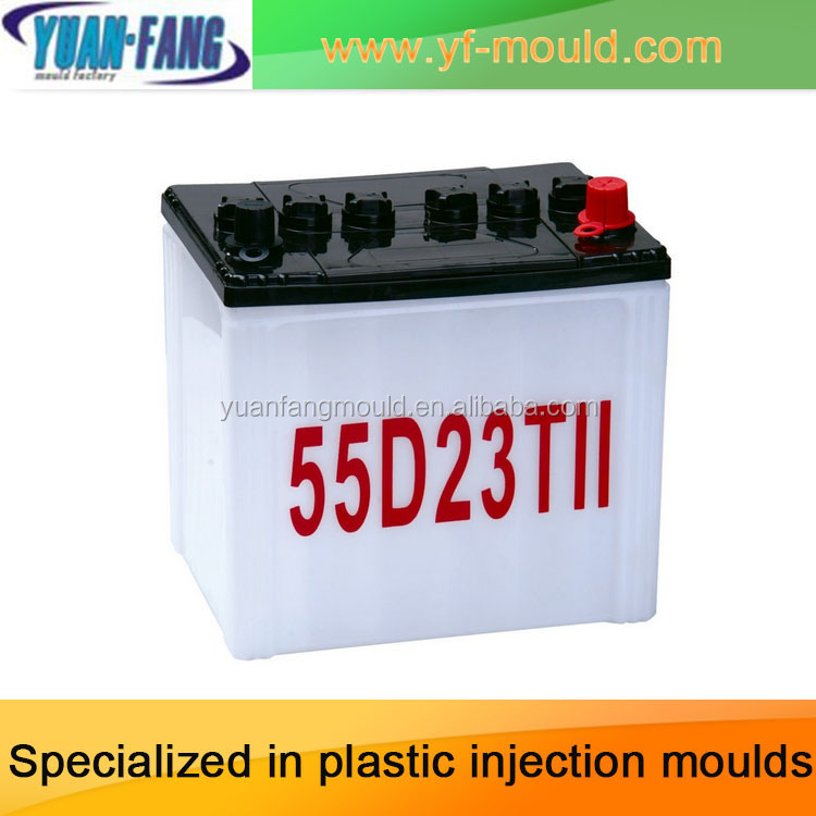 Plastic injection car battery mould/mold,Plastic storage battery case mold,Plastic battery box mould