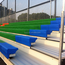 Best football field fixed bleacher with plastic seats