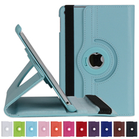 Factory Outlet Handheld Case 360 Rotating PU Flip Cover for iPad MINI 4