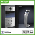IP SIP TCP IP Door Video Door Phone Intercom System Smart Door Bell