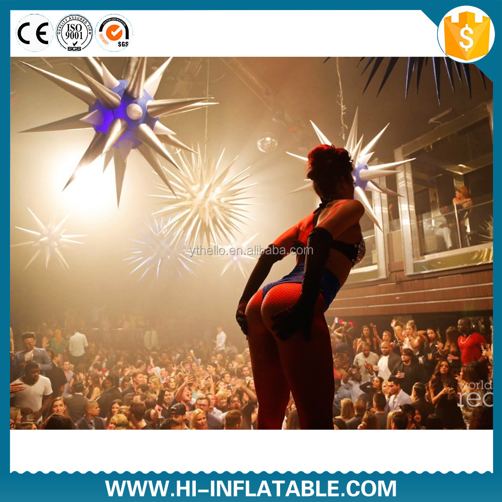 sex night club inflatable lights decoration star for event party club