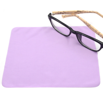 China supplier promotional microfiber eyeglass cleaning cloth in bulk