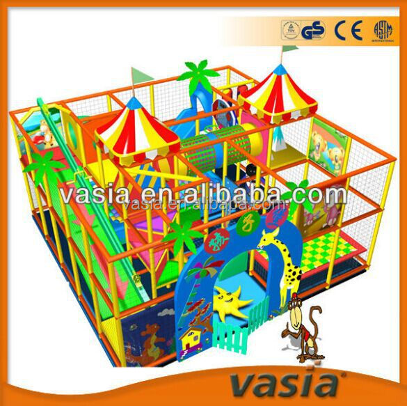 Indoor children creative recreation OEM indoor playground seesaw