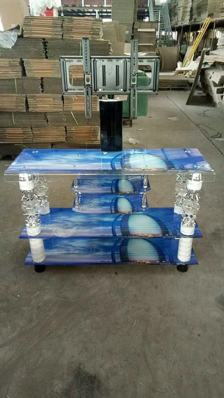 General Usage High Gloss Glass TV Stand
