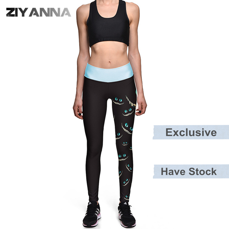 (Factory OEM/ODM/have stock)New style quick dry tight runner sports leggings high waist printed yoga pants