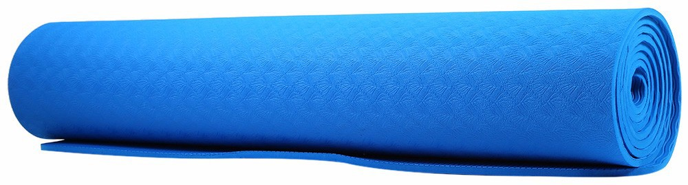 183 x 61 x 0.6CM 2 Different Pattern Sides TPE Yoga Mat Body Building Health Lose Weight Exercise Gym Cushion Fitness Pad