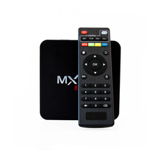 MXG best tv box 4K*2K Quad Core Android TV box S905X Android 6.0 WiFi Kodi iptv Smart TV Box - Plug : US / UK / AU / EU