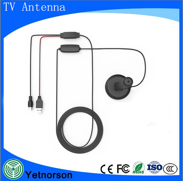 Portable Digital TV Roof Aerial, Magnetic Mount DVB-T Car Antenna