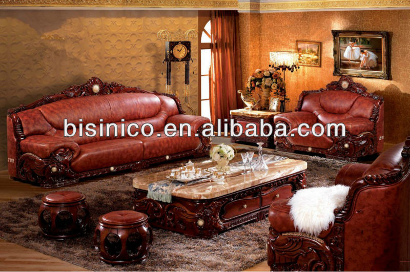 Southeast Asian FurnitureLiving Room Sofa SetCarved Wood Marble Top Coffee TableMalaysia Image Leisure Chaise Lounge