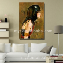 Nude women oil painting on canvas abstract people art painting