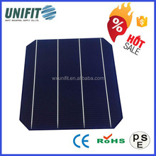 High efficiency A grade 6x6 inch best monocrystalline solar cell price for solar panel