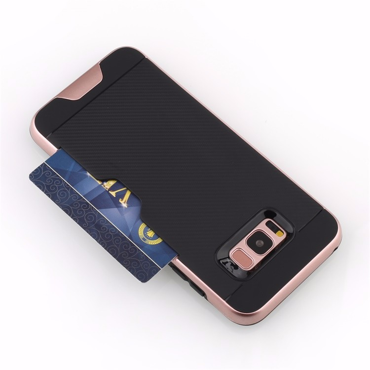 Popular Style for galaxy s8 case card,for samsung s8 case plus holder