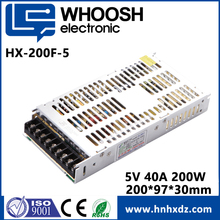 Switching power supply 200w 5v 40a for LED