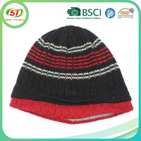 custom patch winter beanies hat winter hat knitted beanies muslim knitted caps