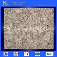 China manufacturer polished peach red granite g687 in stock