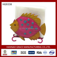 Modern Sculpture Fish Handmade Napkin Holder