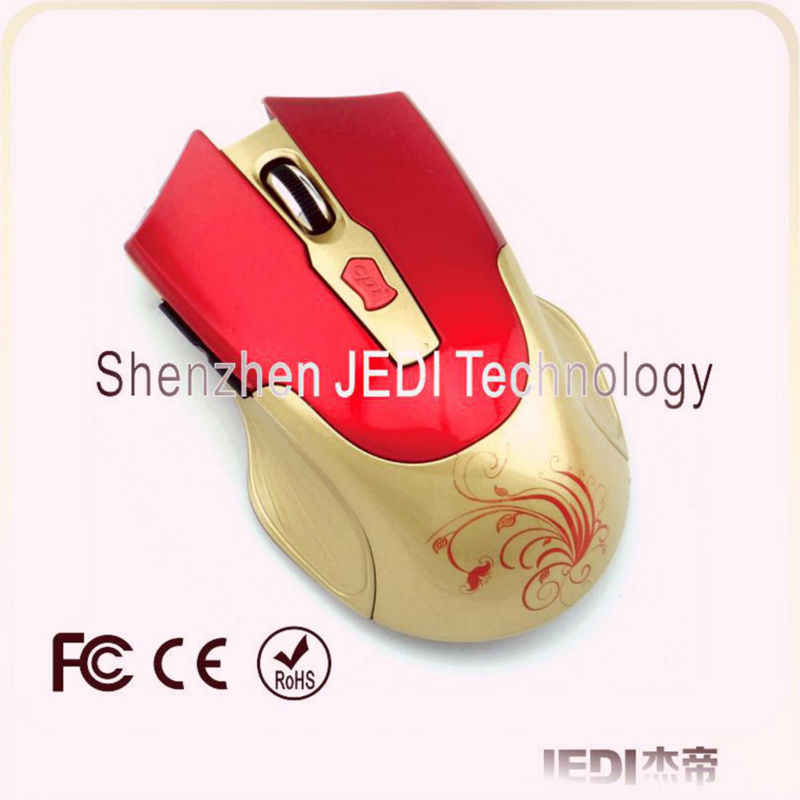6D key 2.4ghz wireless optical usb mouse shenzhen computer mouse for PC Laptop